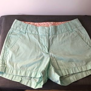 J. Crew Chino broken in cotton shorts